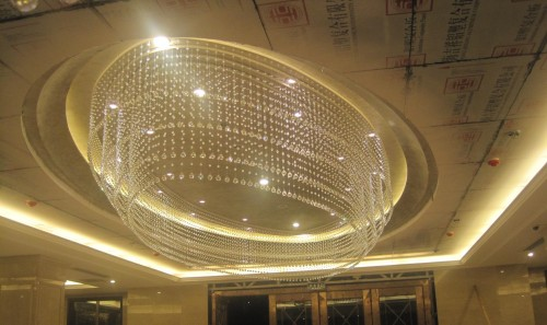 showroom chandelier